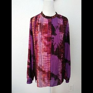 A.N.A Women's Multicolor Blouse Size Small
